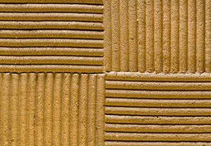 clay plaster corduroy